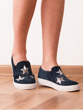 Espadrile Dama Denim Reward Bleumarin-2