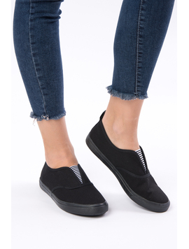 Espadrile Dama Wild Dream All Negre