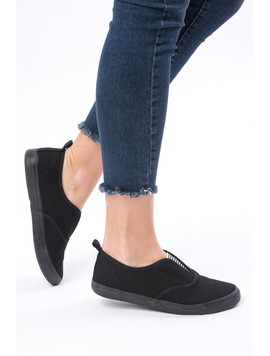 Espadrile Dama Wild Dream All Negre-2