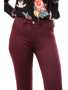 Pantalon Dama AllColor Bordo-2