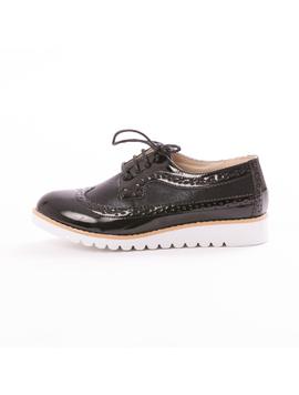 Pantofi Dama OxfordSchool Negru
