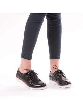 Pantofi Dama OxfordSchool Negru-2