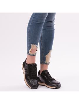 Pantofi Sport Casual UpForRunning Negru-2