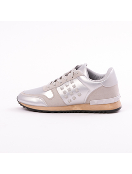Pantofi Sport Casual UpForRunning Argintiu