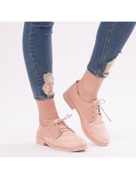Pantofi Dama ShineySnake Roz-2