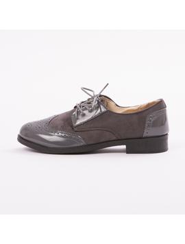 Pantofi Dama VarnishedGirl Gri