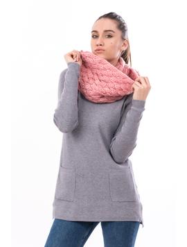 Fular Dama Tricotat BigEye Roz
