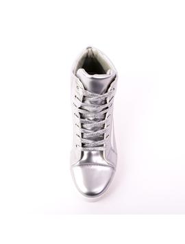Ghete Dama MetalFit Argintiu-2