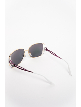 Ochelari De Soare Dama Impression Verde Si Argintiu-2