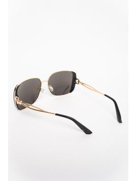 Ochelari De Soare Dama Impression Albastru Si Auriu-2
