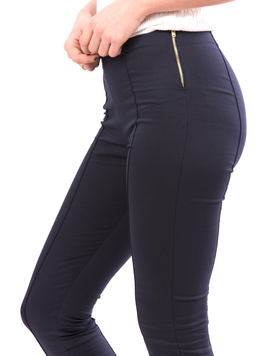 Pantalon Dama CasualFit Bleumarin-2