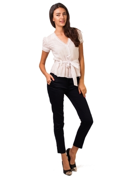 Pantaloni Dama Office Pocket Pants Bleumarin