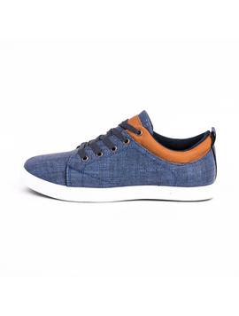 Pantofi Barbati Cu Siret FutureSport Albastru Inchis