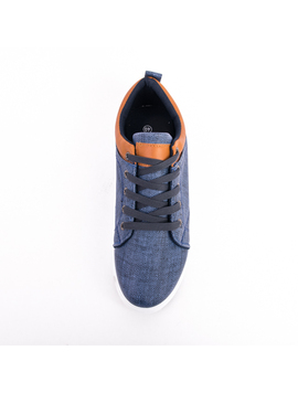 Pantofi Barbati Cu Siret FutureSport Albastru Inchis-2