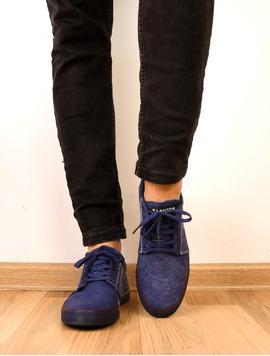 Pantofi Barbati Sport Cu Siret Midnight Bleumarin-2
