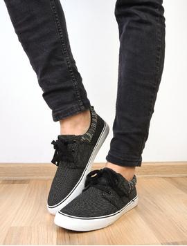 Pantofi Barbati Sport Cu Siret Mystery Negri
