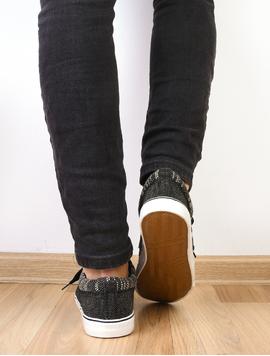 Pantofi Barbati Sport Cu Siret Mystery Negri-2