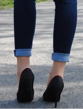 Pantofi Dama Spring Fringe Black-2