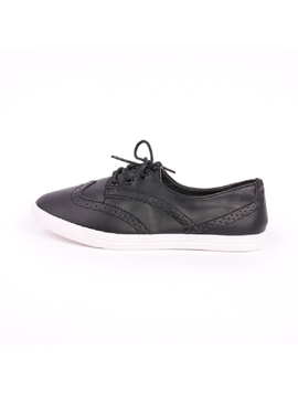 Pantofi Dama Oxford Negru