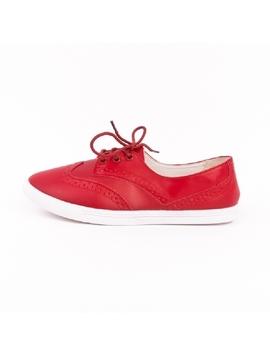 Pantofi Dama Oxford Rosu