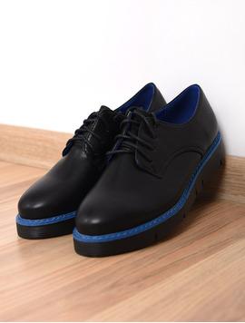 Pantofi Dama Casual Limit Negru Si Albastru