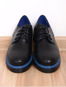 Pantofi Dama Casual Limit Negru Si Albastru-2
