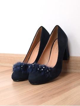 Pantofi Dama Cu Toc Mediu Opinion Bleumarin