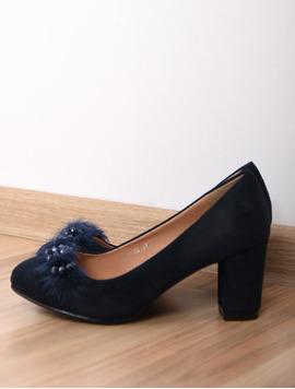 Pantofi Dama Cu Toc Mediu Opinion Bleumarin-2