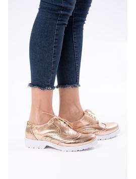 Pantofi Dama Casual Lacuiti Everyday Bronz-2