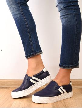 Pantofi Dama Sport Cu Elastic Actress Bleumarin