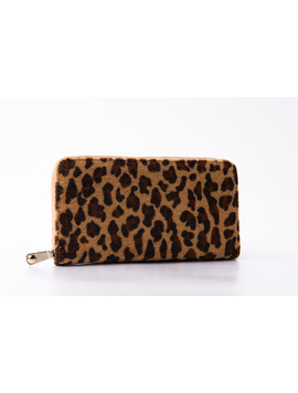 Portofel Dama LeopardBrown