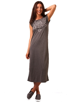 Rochie Dama French Look Gri Inchis