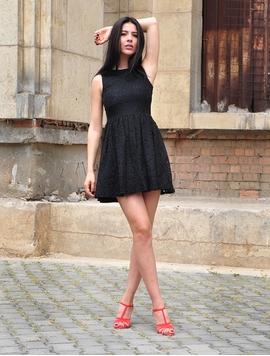 Rochie Dama Nine In The Morning Black