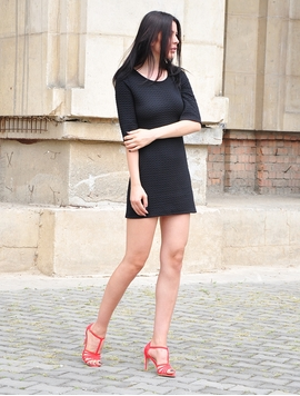 Rochie Dama This Way Black