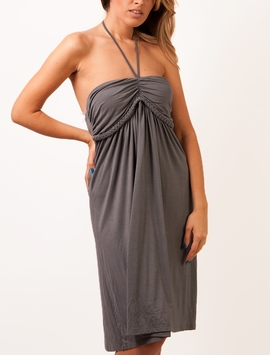 Rochie Dama Sunflower Fields Grey-2