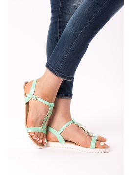 Sandale Dama Lacuite Roxanne Turcoaz-2