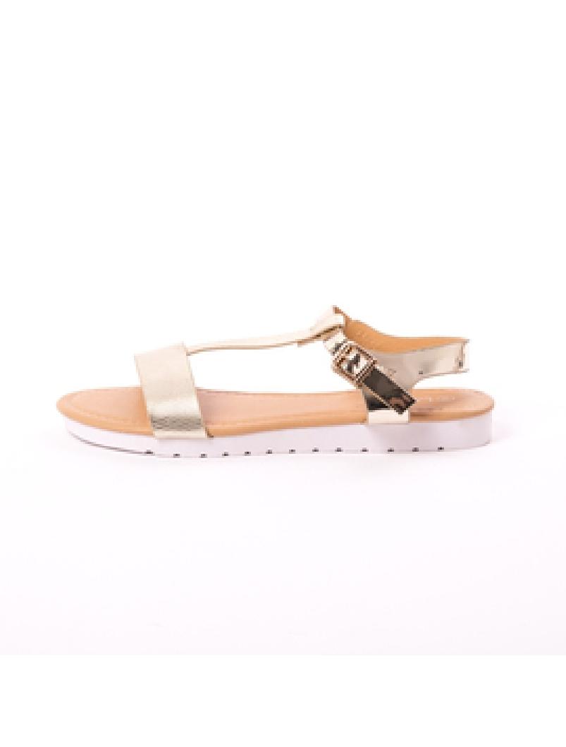 Sandale Dama Elliot Aurii