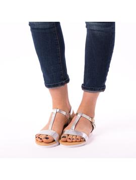 Sandale Dama Elliot Argintii-2