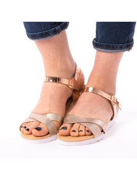 Sandale Dama Elliot Bronz-2