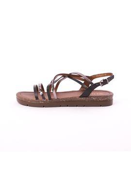 Sandale Dama Flexa Negre