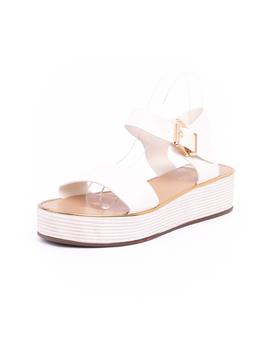 Sandale Dama Talpa Groasa Crowfort Albe-2