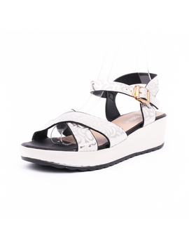 Sandale Dama Talpa Groasa Confy Albe-2