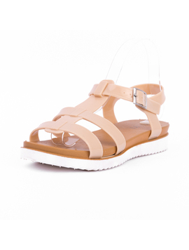 Sandale Dama Picos Bej-2