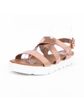Sandale Dama Vakos Sampanie-2