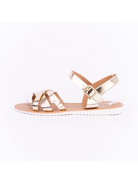 Sandale Dama Bright Gold-2