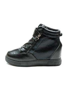 Sneakers Dama Cu Platforma PistolOn Negru