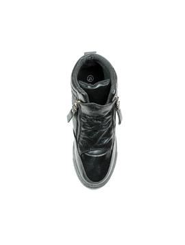 Sneakers Dama Cu Platforma PistolOn Negru -2