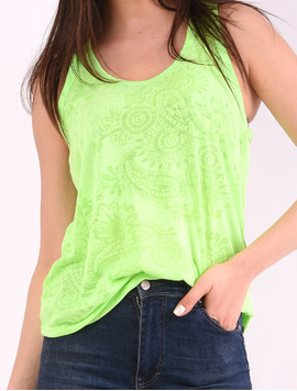 Top Dama Basic Cu Model Sincere Verde-2