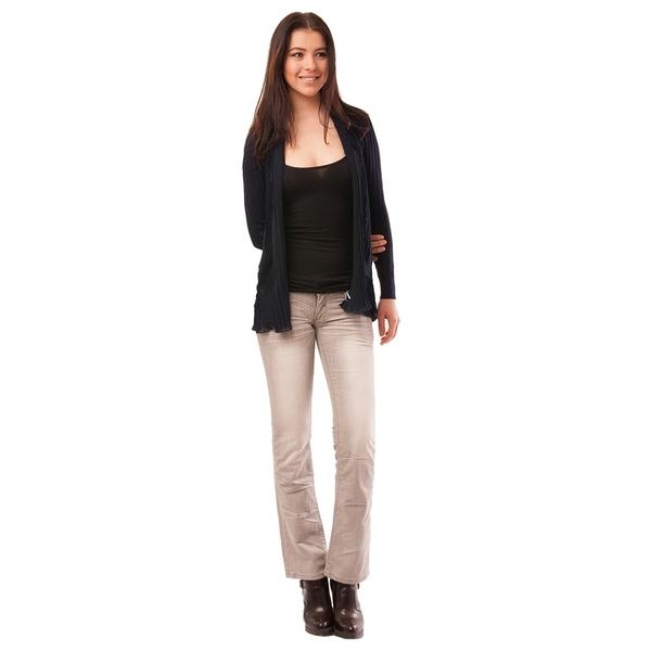 Jeans Dama Cu Aplicatii Metalice Bliss Gri