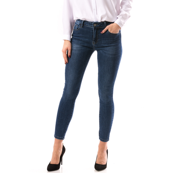 Jeans Dama Sheat&BrokeD Bleumarin